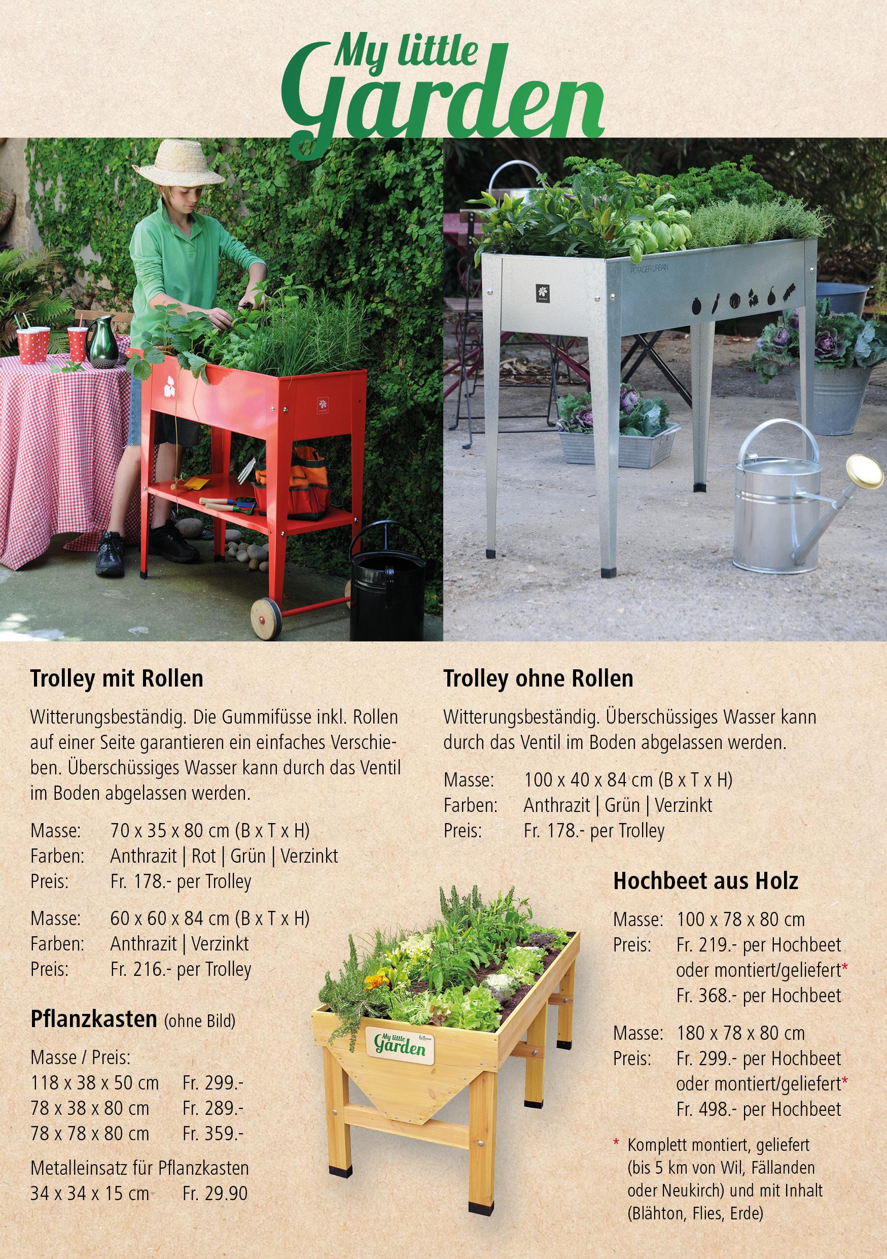 Hochbeete Gartencenter Rutishauser Ag Zuberwangen